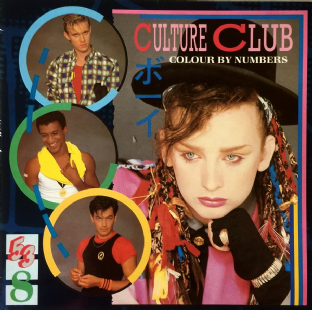 Culture Club - Colour By Numbers (LP) (EX/VG-)